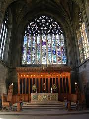 paisley abbey stain glass